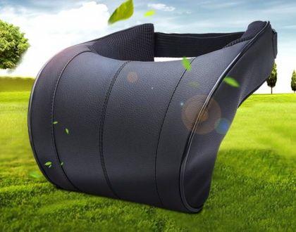 Автомобильная подушка для шеи, черный, 25 x 27 x 13,5 см
