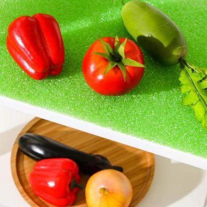 Коврик в холодильник для хранения овощей и фруктов, 30 х 34 см