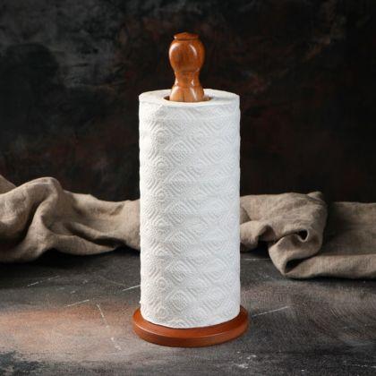 Держатель для бумажных полотенец «Honey», коричневый, 12 x 5,5 x 29 см