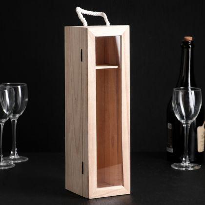 Ящик для вина «Подарочный», 10 x 10 x 35 см