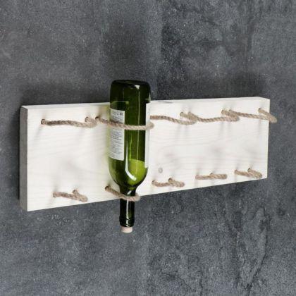 Полка для вина «Manhattan», белый, 59 x 4 x 19 см