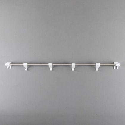 Набор рейлинг «Престиж», белый, 59 х 5 х 5 см