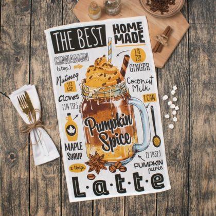 Полотенце кухонное «Latte», 60 x 35 см