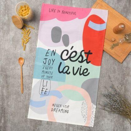 Полотенце кухонное «Cest La Vie», 73 х 40 см