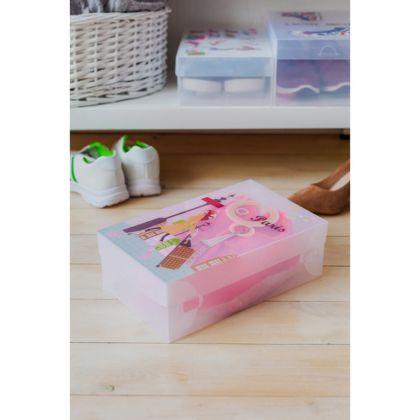 Короб для хранения с крышкой «Paris», 29,5 x 18,5 x 9,5 см
