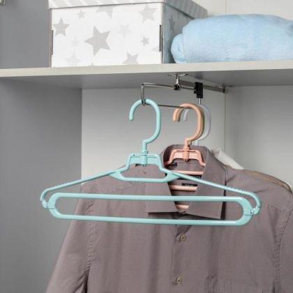 Вешалка-плечики для одежды универсальная, размер 42-44, 21 х 1,5 x 41 см