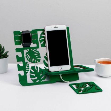Органайзер составной «Джунгли», зеленый, 21,5 х 1 x 19,5 см