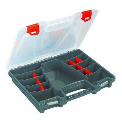 Органайзер для крепежа пластиковый, 31 х 25 х 5 см