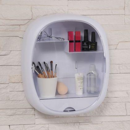 Подвесной органайзер для косметических принадлежностей, 2 крючка, 33 x 38,5 x 10 см