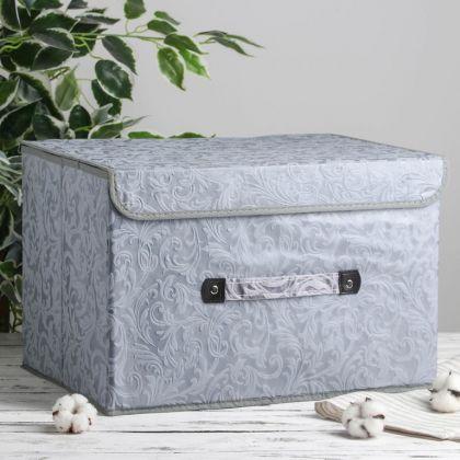 "Коробка для хранения с крышкой ""Легкость"", 47 х 31 х 30 см"