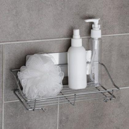 Полка настенная в ванную, 25 х 11 х 6 см