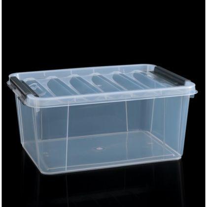 Контейнер для хранения с крышкой «Profi», 15 л, 40 x 29 x 18 см