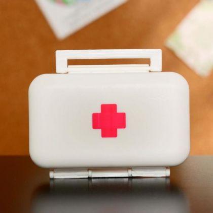 Аптечка в сумку, белый, 10 x 6,5 x 3,3 см