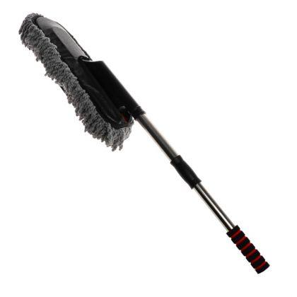 Щетка для удаления пыли, телескопическая, серый, 12 х 9 x 62-85 см