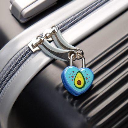 Замочек для чемодана с ключами «Avocado»