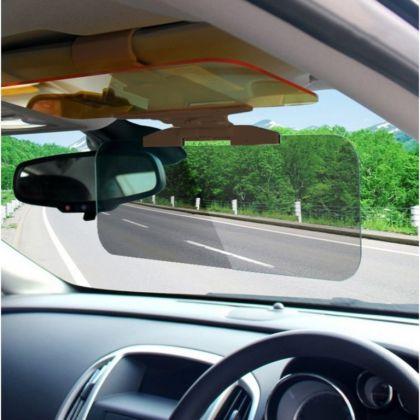 Экран на солнцезащитный козырек для защиты от встречных фар и солнца, 32 х 17 см