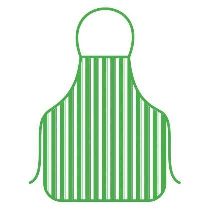 Фартук «Пикник», зеленый, 52 x 72 см