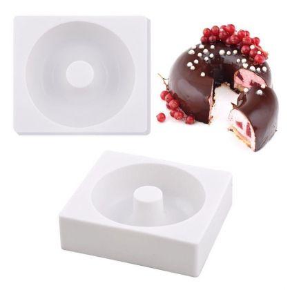 Силиконовая форма для муссовых десертов «Classic», 14,5 x 13 x 4 см