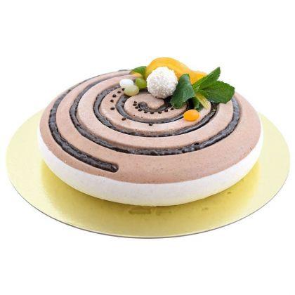 Силиконовая форма для муссовых тортов «Hypnose», 25 x 25 x 5 см