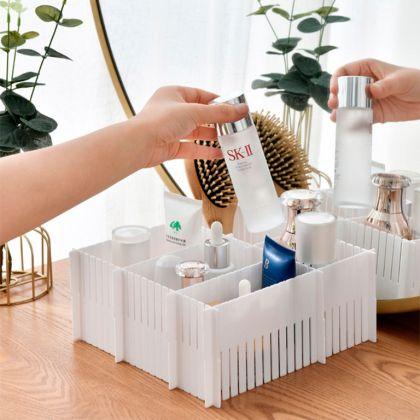 Набор пластиковых разделителей для ящиков, 5 штук, 38 x 7 см