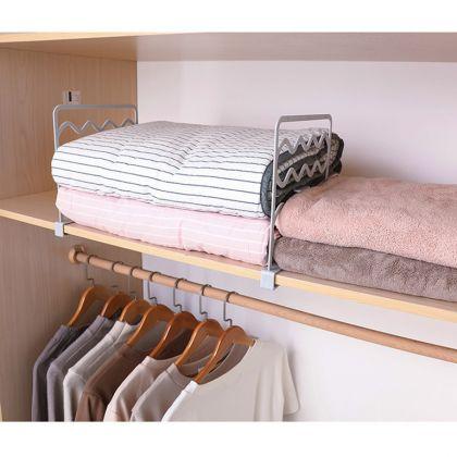 Разделитель вещей на полках шкафа «Wave», белый, 27,4 x 2,3 x 25 см