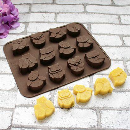 Форма для шоколадных конфет «Owl», силиконовая