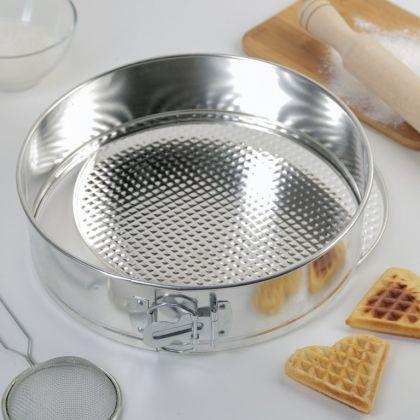 Кулинарная форма для выпечки разъемная, 24,5 x 7,5 см