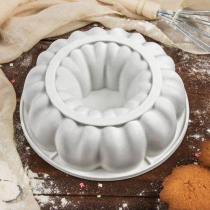 Силиконовая форма для муссовых тортов «Bon Appetit», 19 x 19 x 5,5 см