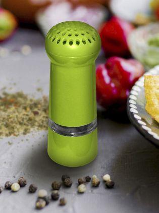 Мельница для перца, зеленый, 4,5 x 4,5 x 13 см