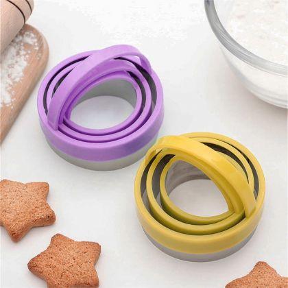 Набор кулинарных форм для печенья, 3 шт