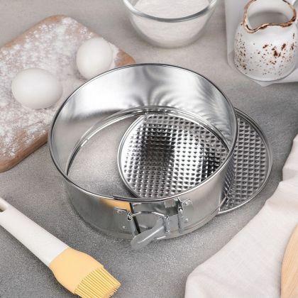 Кулинарная форма для выпечки разъемная, 17,5 x 7,5 см