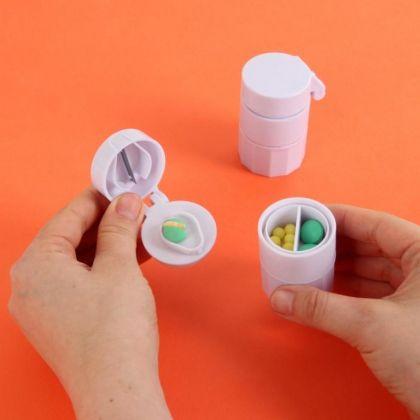 Таблеторезка, белый, 4 х 4 x 6,5 см