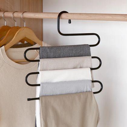 Вешалка для брюк и юбок многоуровневая, 33 x 0,7 x 36 см