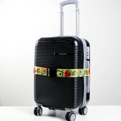 Ремень для чемодана «Fruits», 180 x 5 см