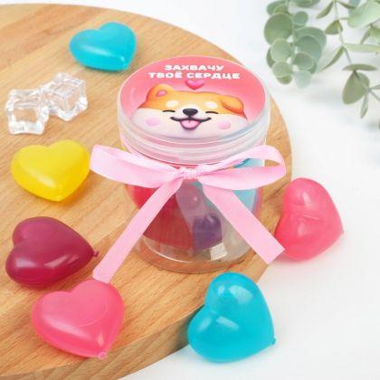 Кубики льда многоразовые «Love», 6 шт