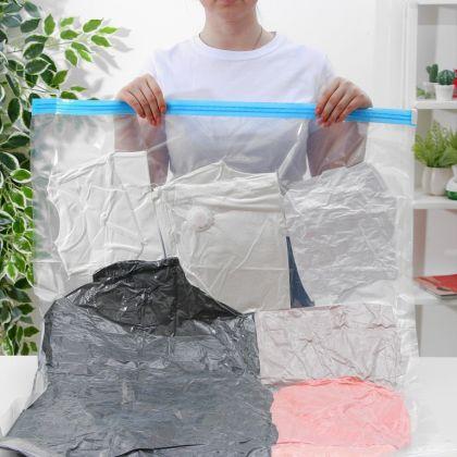 Вакуумный пакет для хранения вещей, 60 х 80 см
