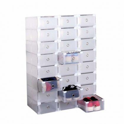 Сборный модуль для хранения обуви из 24 шт, модель 2, 34 x 22 x 13 см