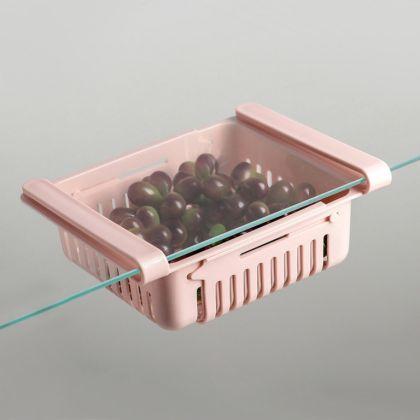 Полка подвесная в холодильник, раздвижная, 23-28 x 16,5 x 8 см