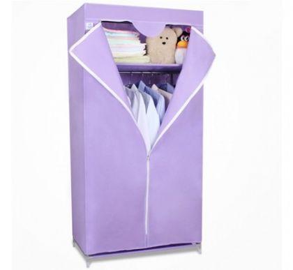 Тканевый шкаф Кармэн, фиолетовый