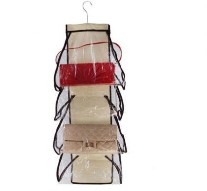 Подвесной органайзер для сумок, 37 х 86 см