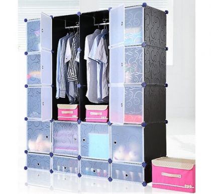 Кубический шкаф Маджорити, черный