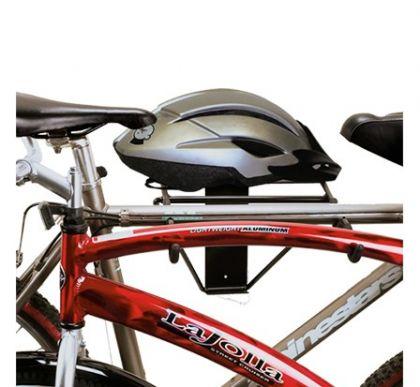 Подвесная система для горизонтального хранения 2-х велосипедов и шлемов