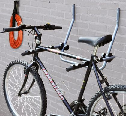 Подвесная система для горизонтального хранения 2-х велосипедов