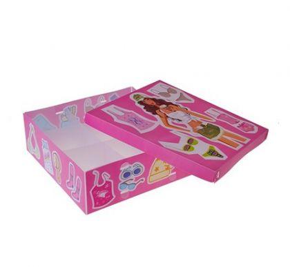 Коробка для хранения белья на 9 ячеек с крышкой