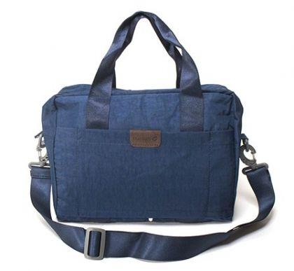 Большая складная сумка, синяя