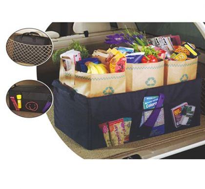 Органайзер для перевозки покупок в автомобиле