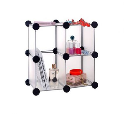 Шкафчик из кубов настольный 3 секции