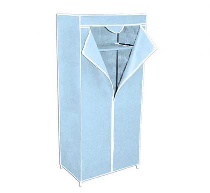 Тканевый шкаф Кармэн, голубой