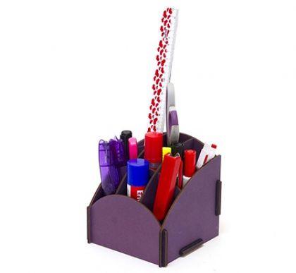 Настольный органайзер Homsu Фиолетовый малый