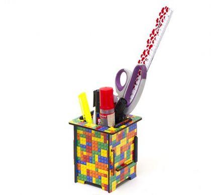 Подставка для карандашей и ручек Homsu конструктор